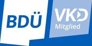 Mitglied im BDÜ und VKD