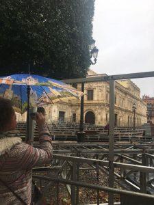 Regen in Sevilla