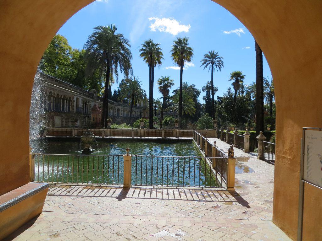 Palmengarten Des Alcázar Real De Sevilla