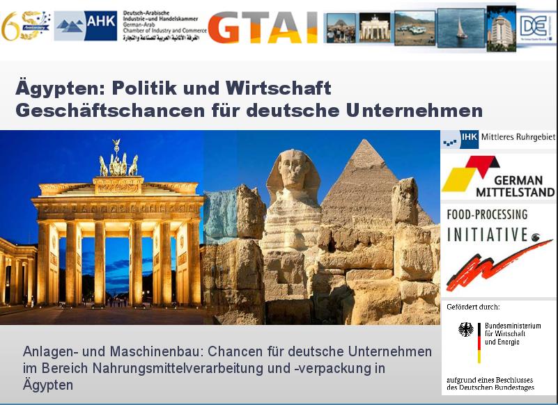 deutsch-ägyptische Zusammenarbeit