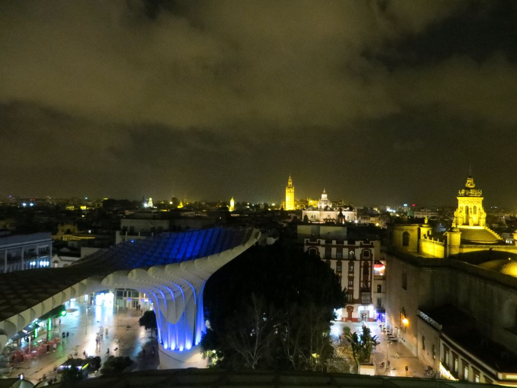 """Las Setas"" Bei Nacht"